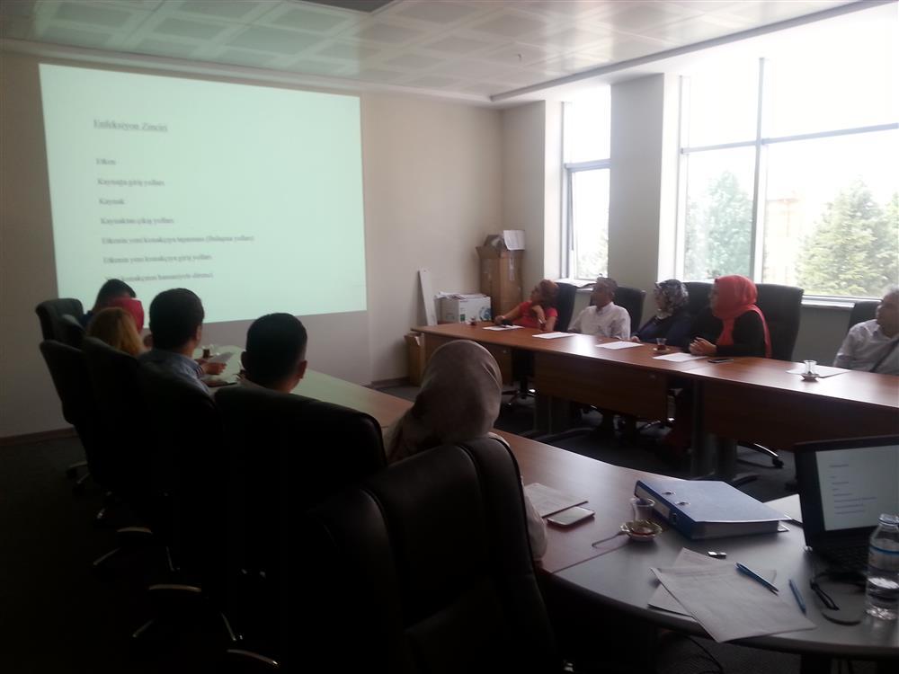 Pandemik İnfluenza Operasyon Merkezi Tanıtım Toplantısı
