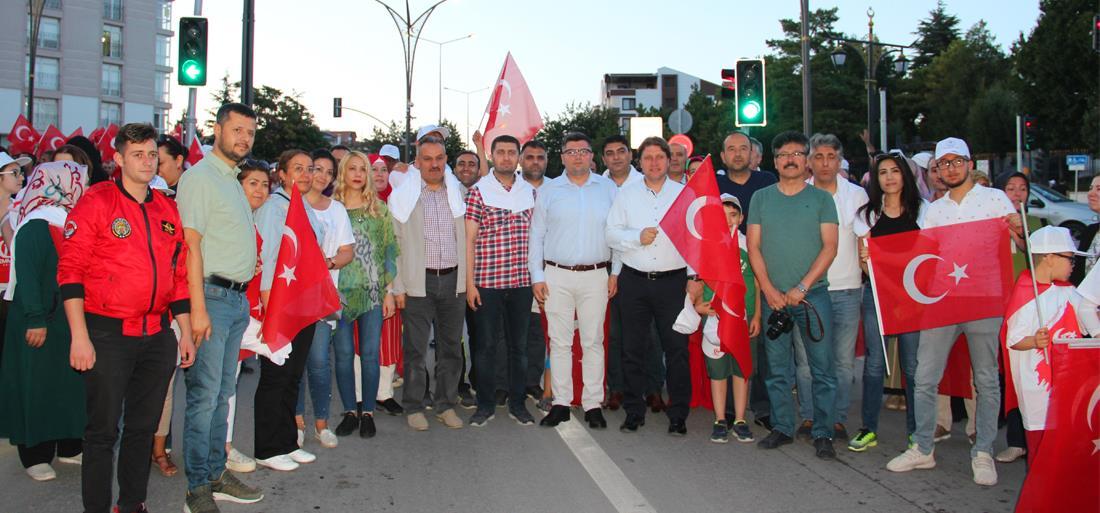 """""""15 Temmuz Demokrasi Ve Milli Birlik Günü"""" Programı Düzenlendi"""