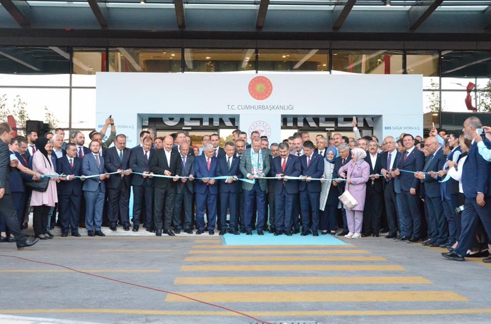 Cumhurbaşkanımız Sayın Recep Tayyip Erdoğan'ın ve Bakanlarımızın teşrifleriyle Bursa Şehir Hastanesi Açıldı