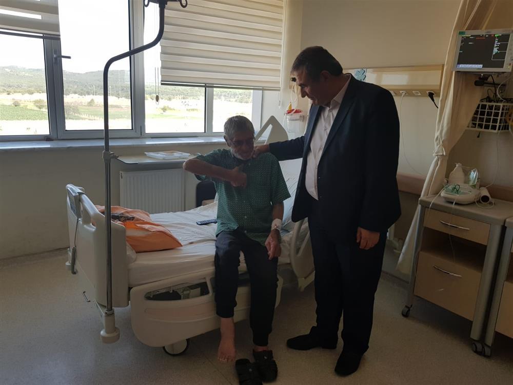 İl Sağlık Müdürümüz Dr.Ali TAŞÇI Ayvacık Devlet Hastanesi'ni Ziyaret Etti.