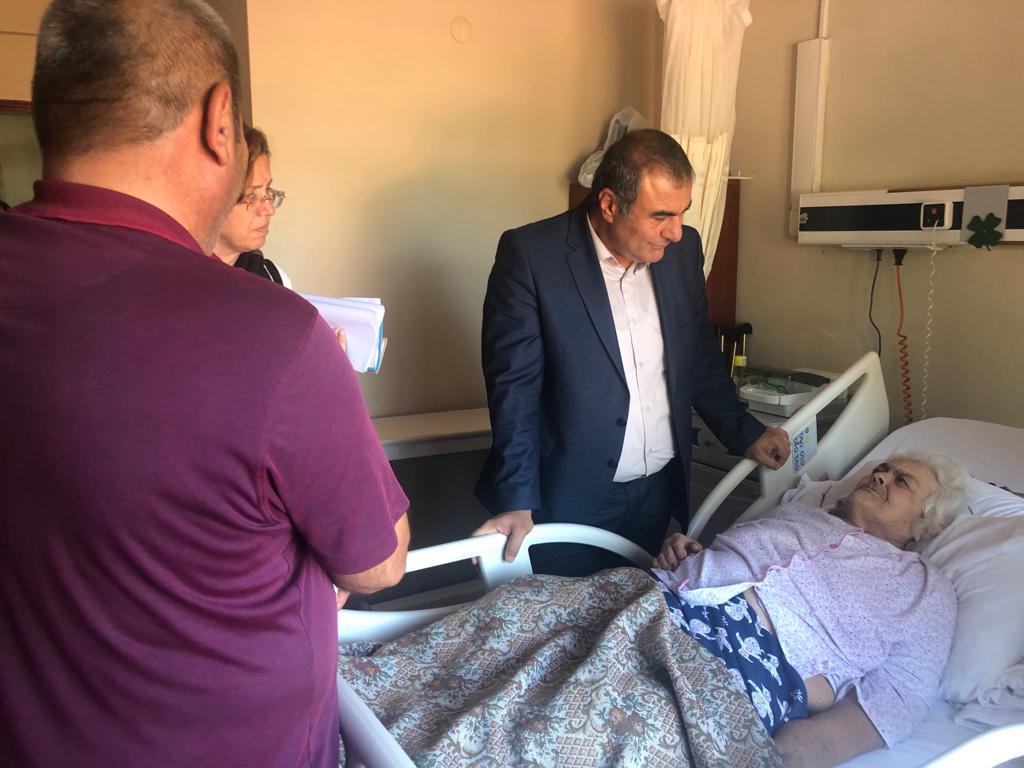 İl Sağlık Müdürümüz Dr.Ali TAŞÇI'nın Bayramiç ve Ezine İlçelerine Ziyaret