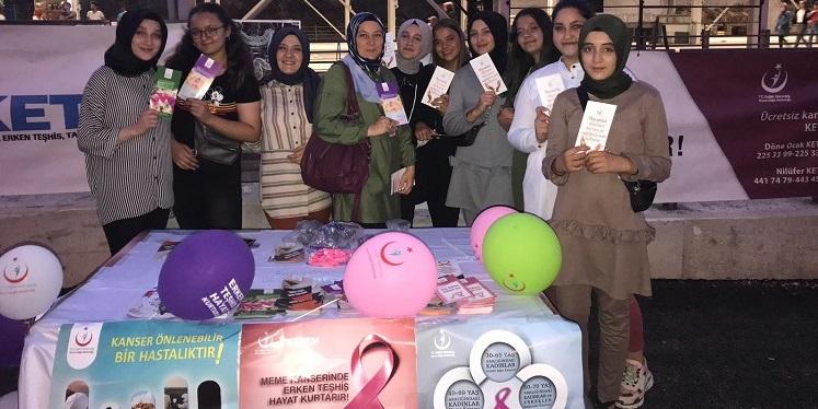 Büyükorhan İlçe Devlet Hastanesi Kanser Standı
