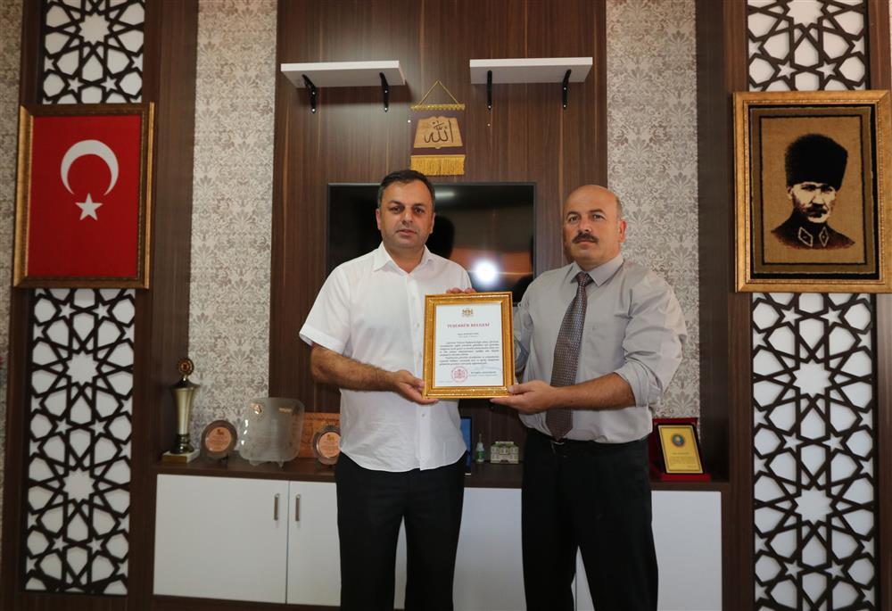 Gürcistan Başkonsolosu'ndan Tepe'ye Teşekkür