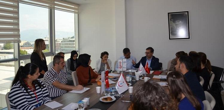 Bursa Valiliği AB Proje ve Dış İlişkiler Koordinasyon Merkezi Sertifika Töreni