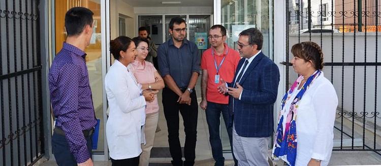 Sağlık Müdürümüz Dr. Özcan Akan Orhangazi Sağlıklı Hayat Merkezi'ni Ziyaret Etti
