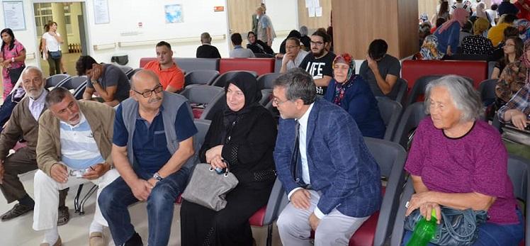 Sağlık Müdürümüz Dr. Özcan AKAN, İznik, Orhangazi ve Gemlik Devlet Hastanelerini Ziyaret Ederek İncelemelerde Bulundu