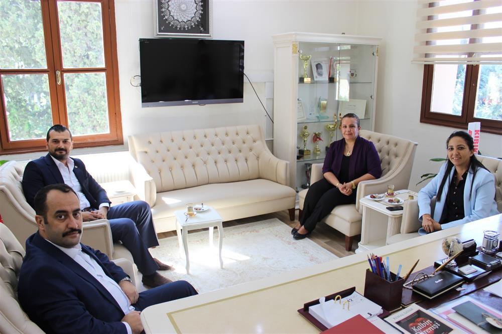 İL SAĞLIK MÜDÜRÜMÜZ DR.MUSTAFA HAMBOLAT'A HAYIRLI OLSUN ZİYARETİ