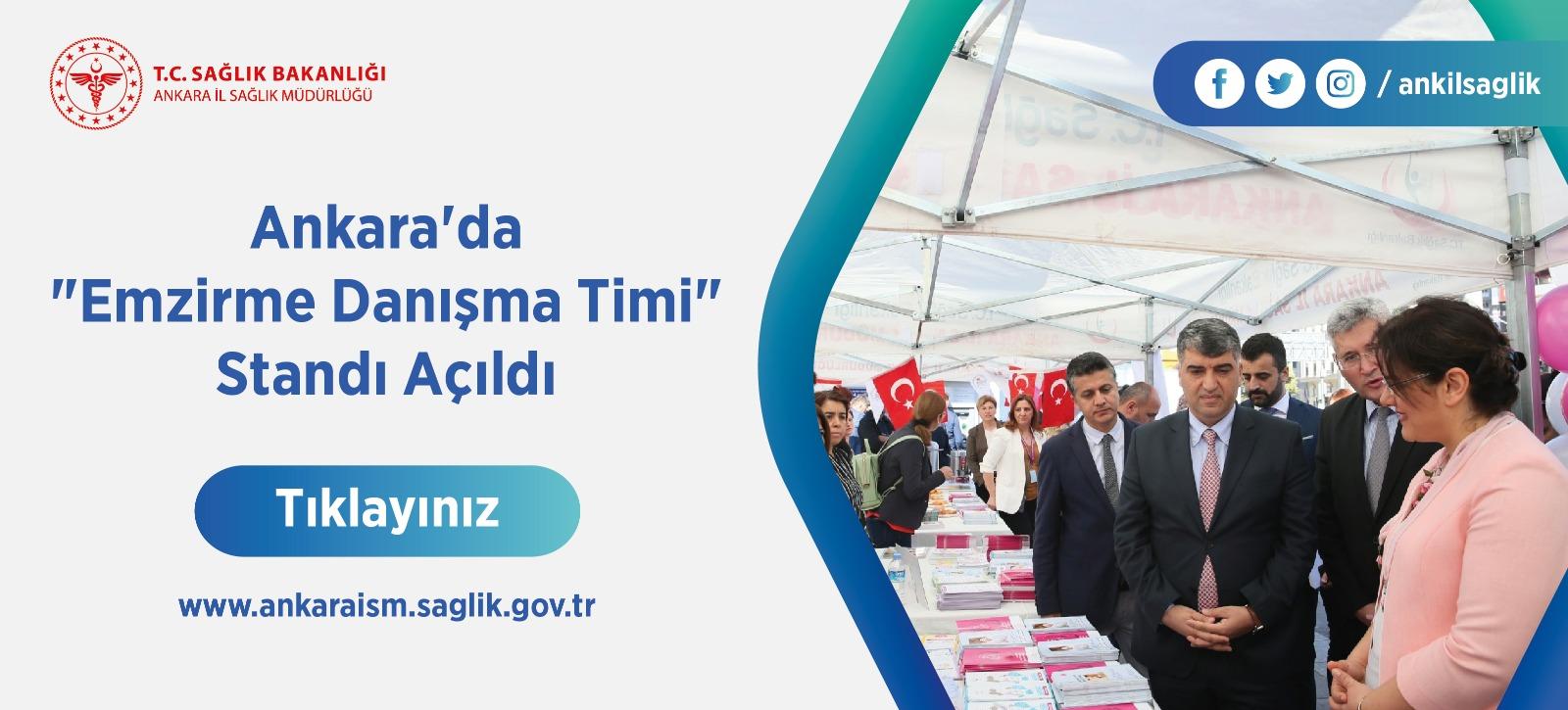 "Ankara'da ""Emzirme Danışma Timi"" Standı Açıldı"