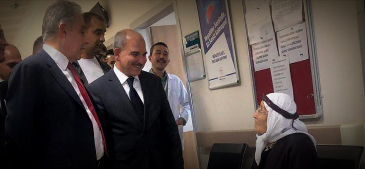 Vali Toprak, Emirgazi Devlet Hastanesi'ni Ziyaret Etti