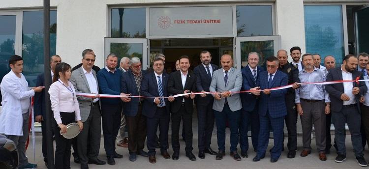 Gürsu Cüneyt Yıldız Devlet Hastanesi Fizik Tedavi Ünitesi, Düzenlenen Törenle Hizmete Girdi