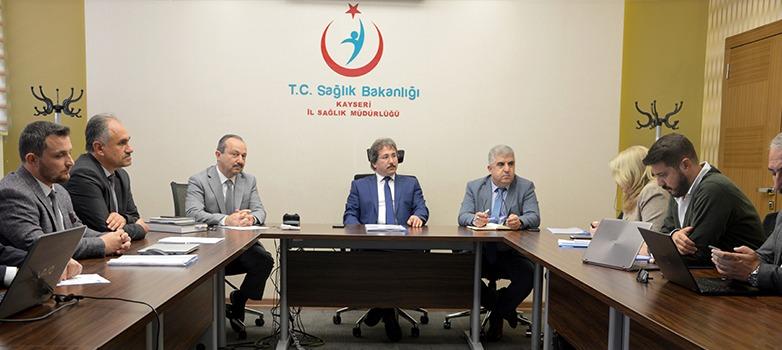 Kayseri Şehir Hastanesi 'İşletme Dönemi 5. Koordinasyon Toplantısı' Yapıldı