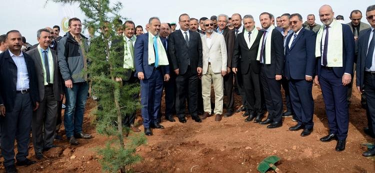 Sağlık Müdürümüz Dr. Özcan Akan, Milli Ağaçlandırma Günü'nde Fidan Ekme Etkinliğine Katıldı