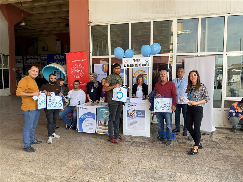 14 Kasım  Dünya  Diyabet Günü  Yürüyüş  Etkinliği Gerçekleştirildi