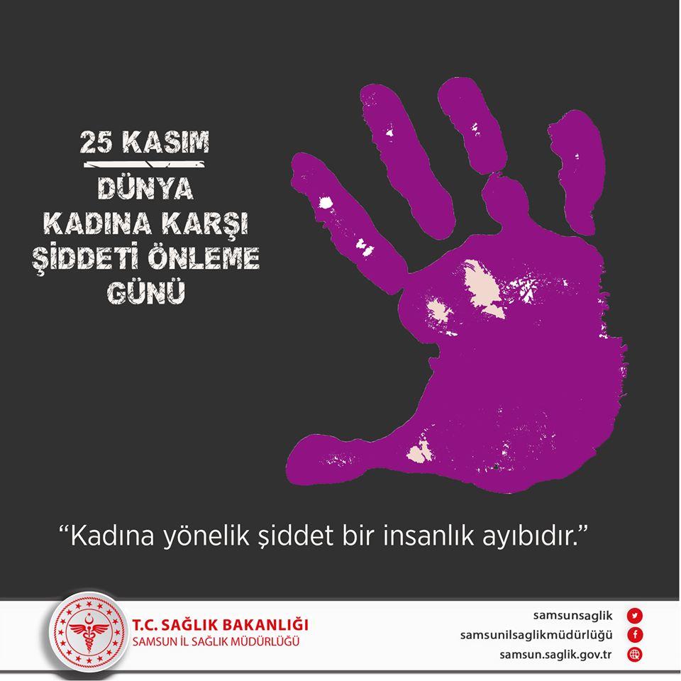 25 Kasım Dünya Kadına Karşı Şiddeti Önleme Günü