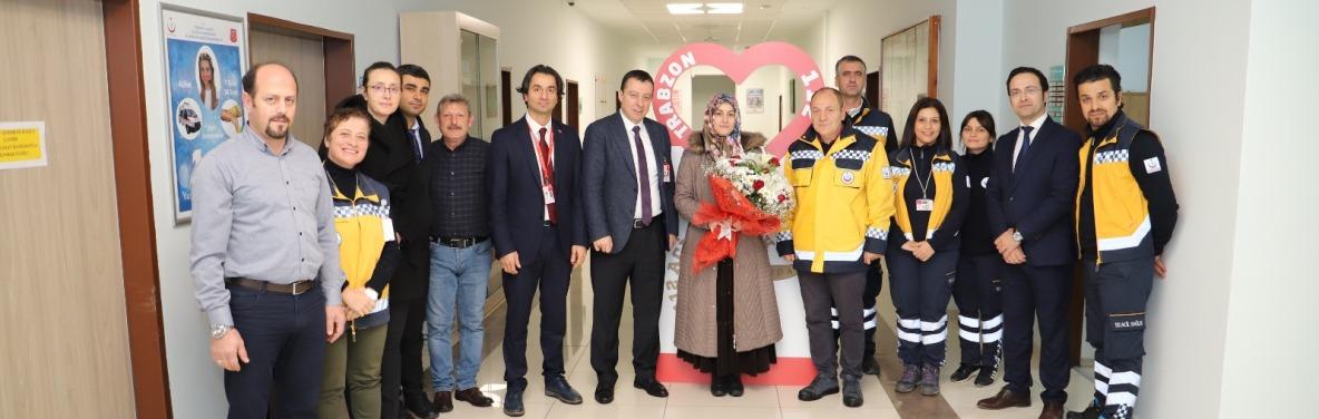İl Sağlık Müdürümüz Sayın Dr. Hakan USTA 1-7 Aralık Acil Sağlık Hizmetleri Haftası Kapsamında KKM ve İl Ambulans Servisi Başhekimliğini Ziyaret Etti.