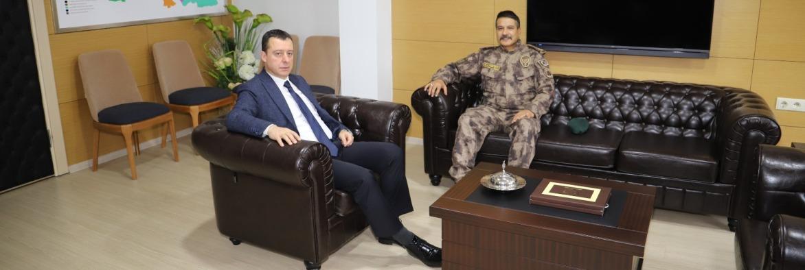 Trabzon İl Emniyet Müdürümüz Sağlık Müdürümüz Dr. Hakan USTA'yı ziyaret ettiler.