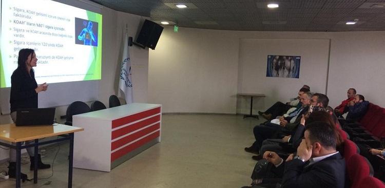 Osmangazi İlçe Gençlik Müdürlüğü Tütün Kullanımı ve Kontrolü Eğitimi Verdi