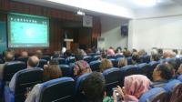 Dr. Raif ÖZDEMİR açılış konuşmasını yapıyor.