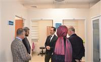 Sağlık Müdürümüz Uzm. Dr. Halim Ömer Kaşıkcı, GETAT Merkezinde İncelemelerde Bulundu