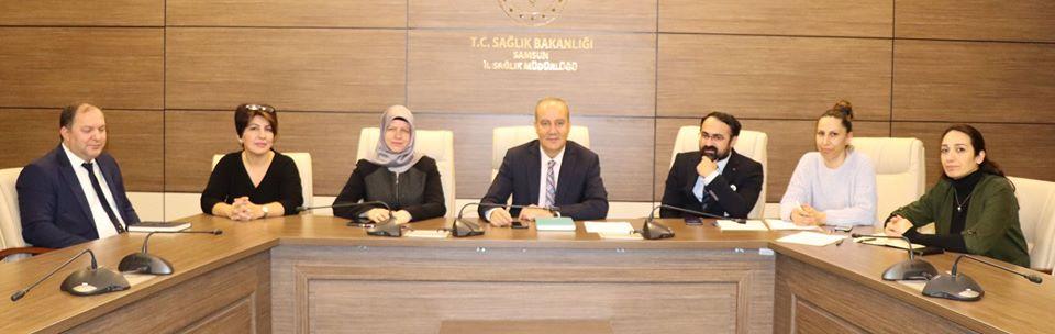 Evde Sağlık Hizmetleri Değerlendirme Toplantısı Yapıldı