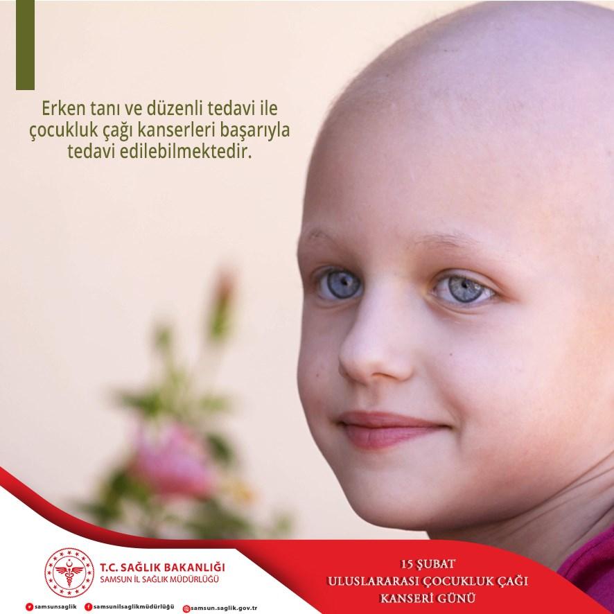 15 Şubat Uluslararası Çocukluk Çağı Kanseri Günü