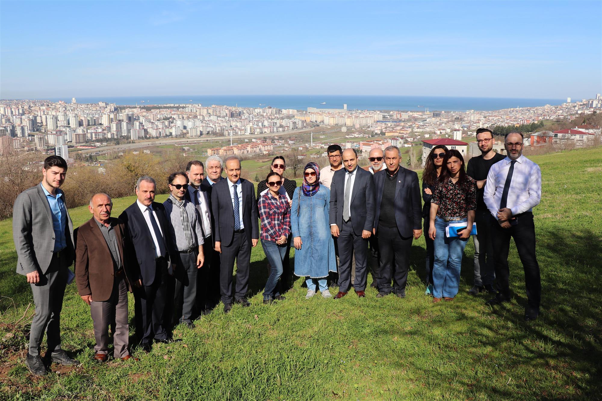 Samsun Şehir Hastanesi Saha Çalışmaları İçin Sağlık Bakanlığı Teknik Değerlendirme Ekibi Samsun'a Geldi