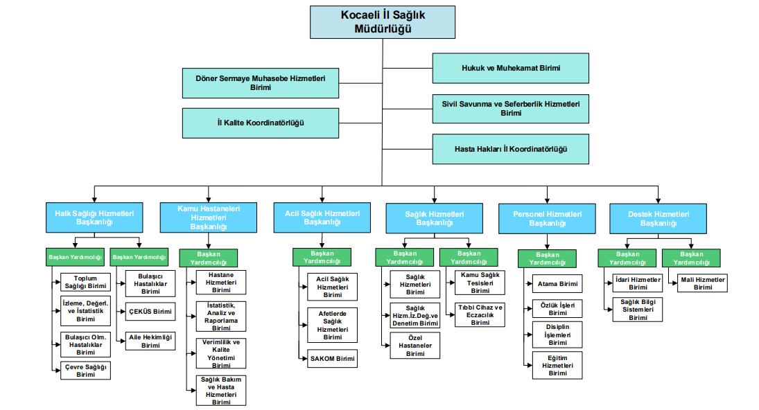 Kocaeli ISM Teşkilat Şeması