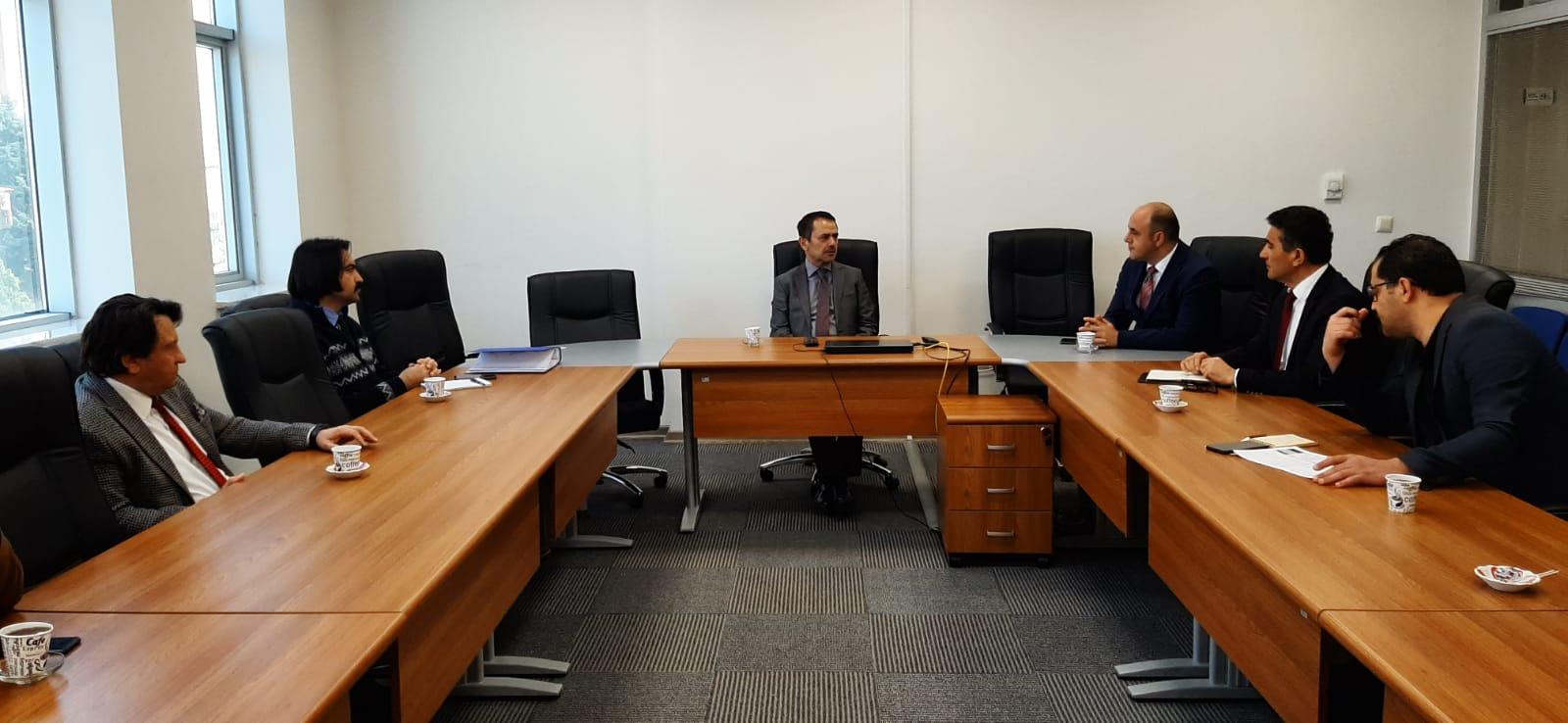 Nevşehir Valisi İlhami Aktaş, İl Sağlık Müdürlüğünü ziyaret etti.