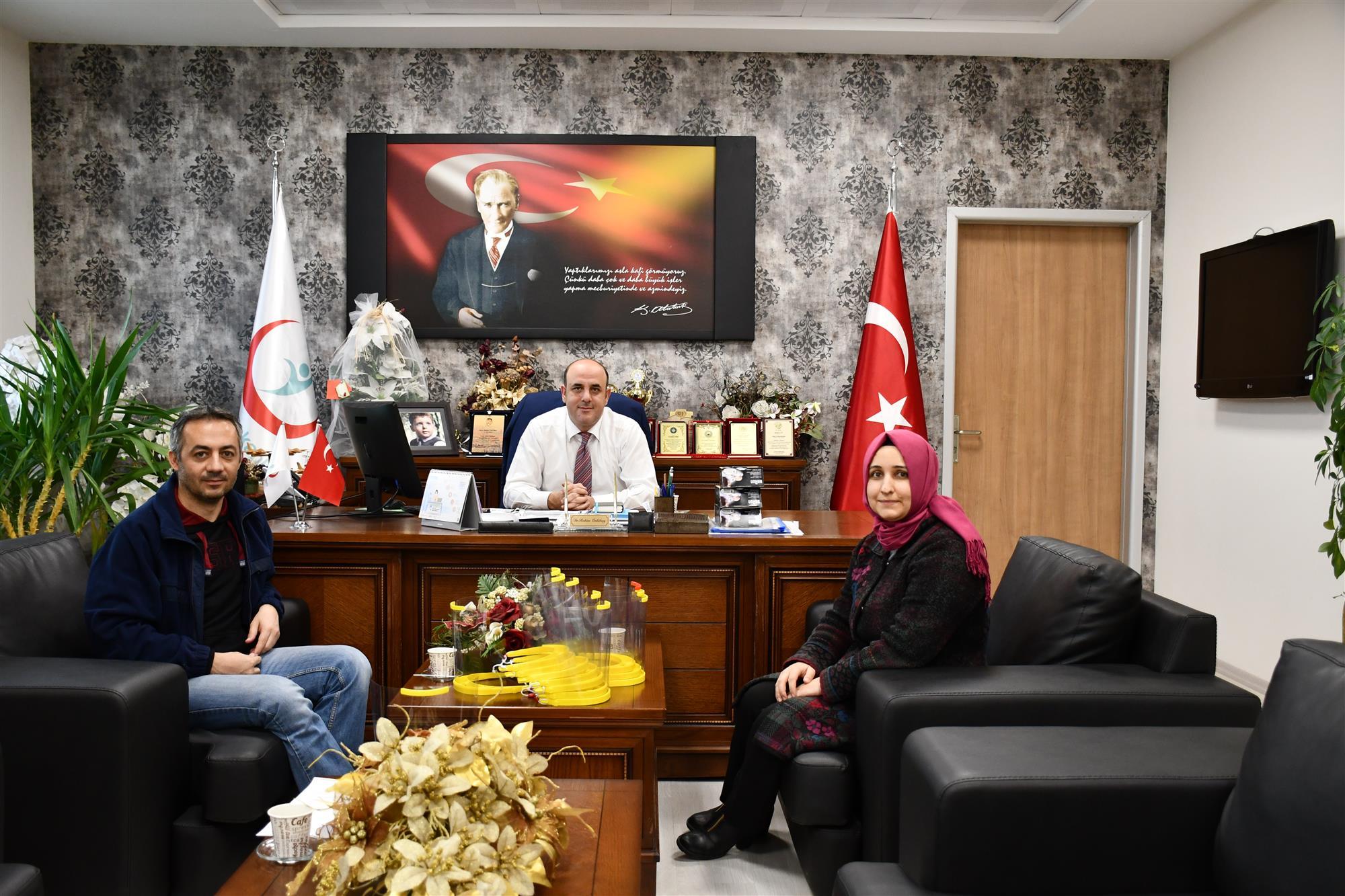 Nevşehir BİLSEM, Sağlık Çalışanlarına Yüz Koruyucu Siperlik Üretti