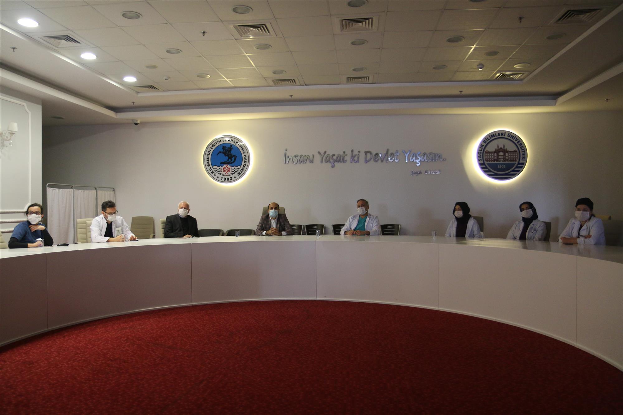 Pandemi Süreci Değerlendirme Toplantısı