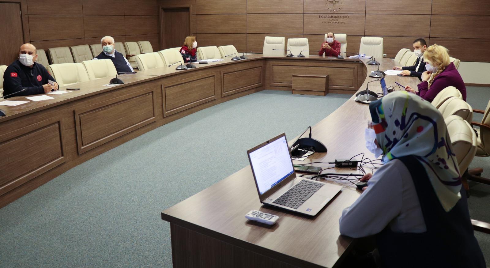 Bilimsel Araştırma Değerlendirme Komisyon Toplantısı Yapıldı