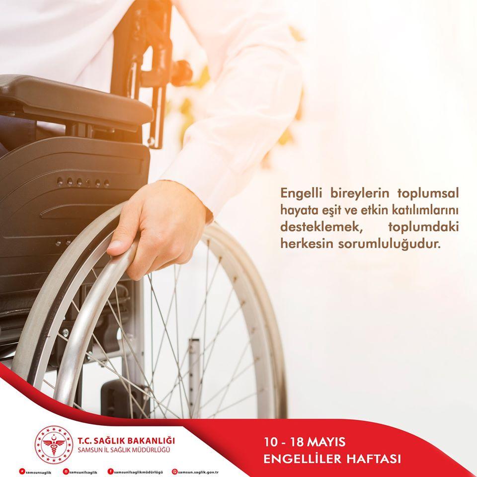 10-18 Mayıs Engelliler Haftası