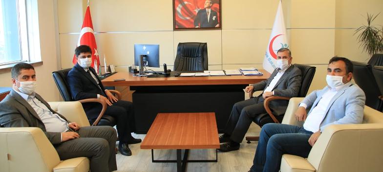 Sinop Ak Parti Millet Vekili Sayın Dr. Nazım Maviş'ten Sağlık Müdürlüğüne ziyaret