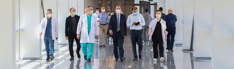 Eğitim Araştırma Hastanemizin Yeni Poliklinik Binası Hizmete Açıldı