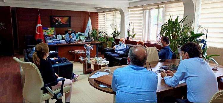 Sağlık Müdürümüz Uzm.Dr.Halim Ömer Kaşıkcı, Yıldırım İlçesi Saha İncelemeleri Sonrasında Değerlendirme Toplantısı Gerçekleştirdi