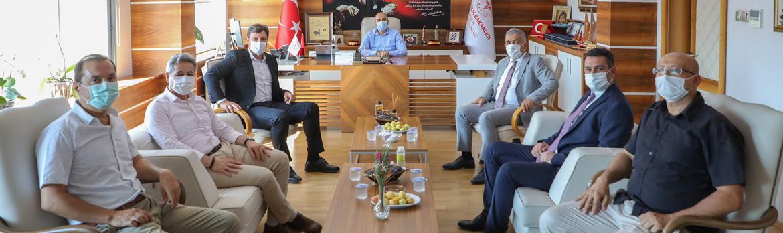 Samsunspor'dan İl Sağlık Müdürlüğümüze Ziyaret