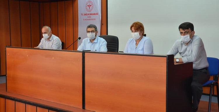 İl Pandemi Bilim Kurulu Toplantısı Gerçekleştirildi