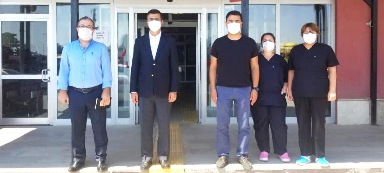Sultandağı Hastanesine Ziyaret