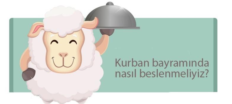 """KURBAN BAYRAMI'NDA SAĞLIKLI BESLENME"""