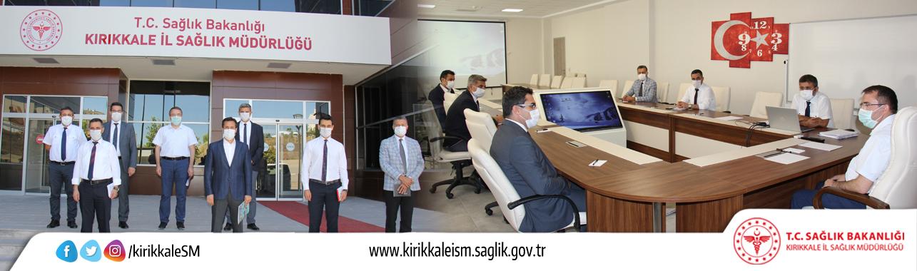Kamu Hastaneleri Genel Müdürümüz Prof. Dr. Hilmi ATASEVEN'den Kırıkkale İl Sağlık Müdürlüğümüze Ziyaret