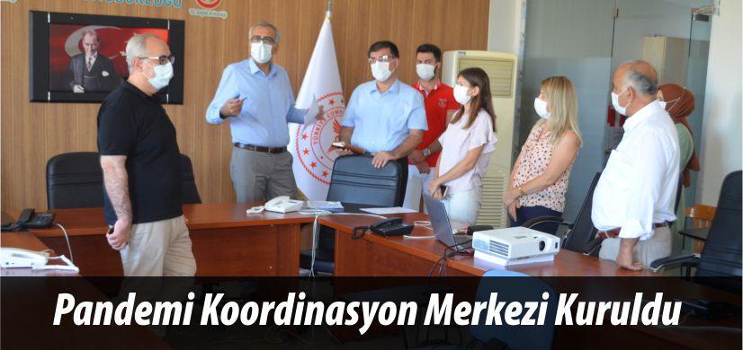 Pandemi Koordinasyon Merkezi Kuruldu