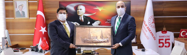 Samsun Cumhuriyet Başsavcısı Mehmet Sabri KILIÇ Ziyareti
