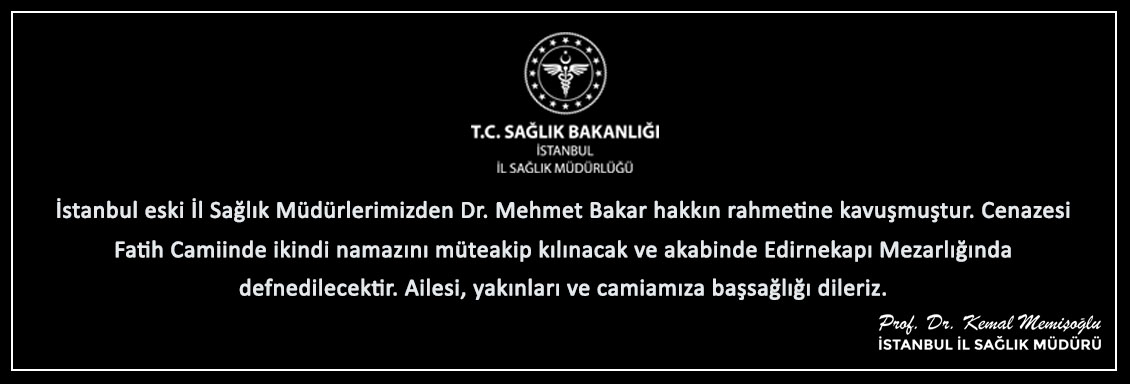 Dr. Mehmet Bakar Tayize Mesajı
