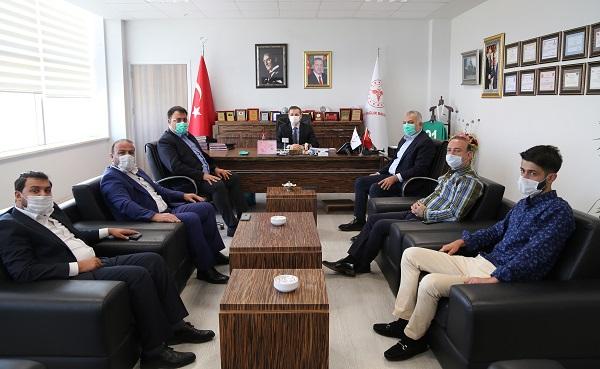 Ak Parti İstanbul Eski Milletvekili Metin Külünk'ten Müdürlüğümüze Ziyaret