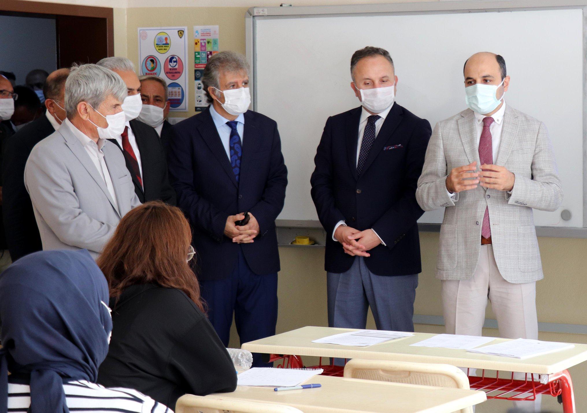 """""""Sağlık İçin Hepimiz İçin"""" Sloganıyla Düzenlenen Koronavirüs Denetimi"""