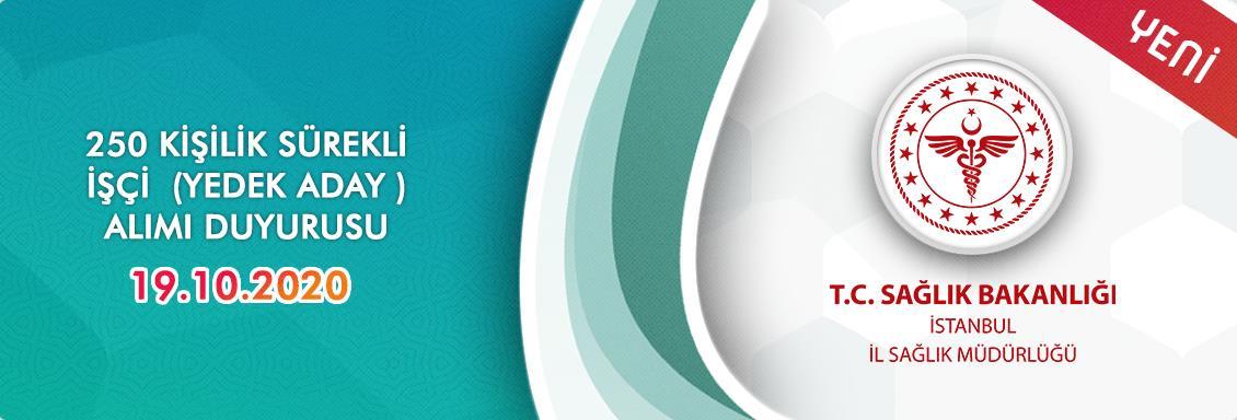 T.C. Sağlık Bakanlığı Merkez ve Taşra Teşkilatı Hizmet Birimlerinde İstihdam Edilmek Üzere Kura Usulü İle Sürekli İşçi (250 Kişilik)  Alımı Yedek Aday Göreve Başlama İşlemlerine Dair İlan Metni