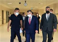 Marmara Üniversitesi Prof. Dr. Asaf Ataseven Hastanesini ziyaret 26.10.2020 1.jpg