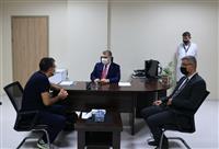 Marmara Üniversitesi Prof. Dr. Asaf Ataseven Hastanesini ziyaret 26.10.2020 2.jpg