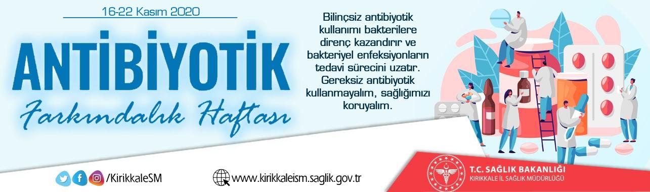 16-22 Kasım Dünya Antibiyotik Farkındalık Haftası