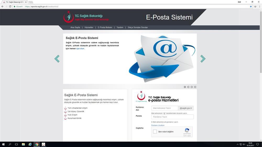 EBYS ve E-Posta Şifre Yenileme İşlemi Nasıl Yapılır